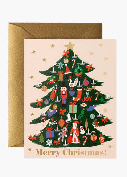 Card | Trimmed Tree