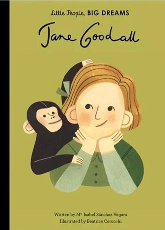 *Coming Soon* Book | Jane Goodall (Little People, Big Dreams)