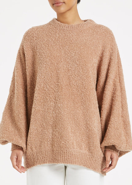 Jumper  | Soothing Knit (Chestnut)