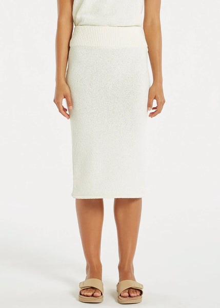 Skirt | Breeze Knit Skirt (White)