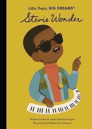 *Coming Soon* Book | Stevie Wonder (Little People, Big Dreams)