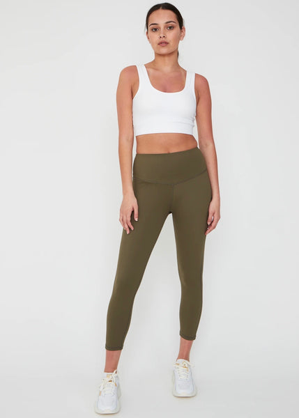 Leggings | Charge 7/8 (Olive)