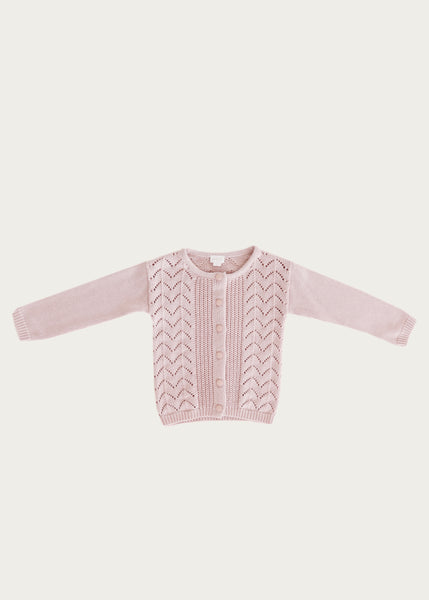 Ellery Cardigan | Old Rose
