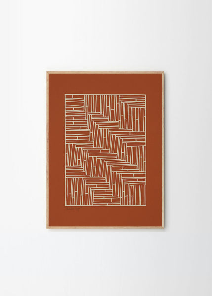 Print | Squares No.1 by Little Detroit (42x59.4cm)