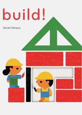 Book | TOUCHTHINKLEARN: Build (Xavier Deneux)