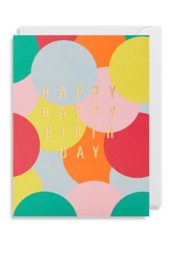 Card | Happy Happy Birthday