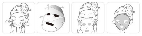 Bio Cellulose Masks - How To