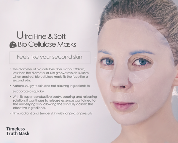 Bio Cellulose Masks from Timeless Truth Mask