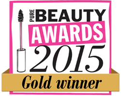 UK Pure Beauty Awards 2015 Gold Winner
