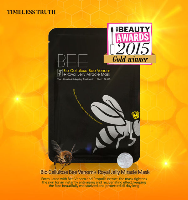 Bee Venom Royal Jelly Bio Cellulose Mask