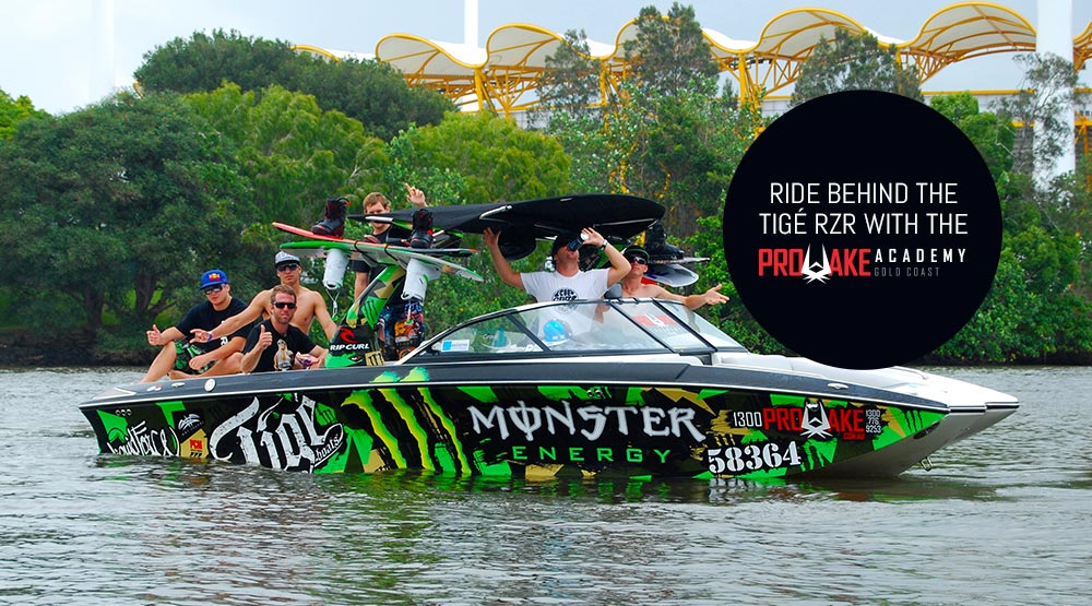 Ride behind the Tigé RZR with ProWake Academy