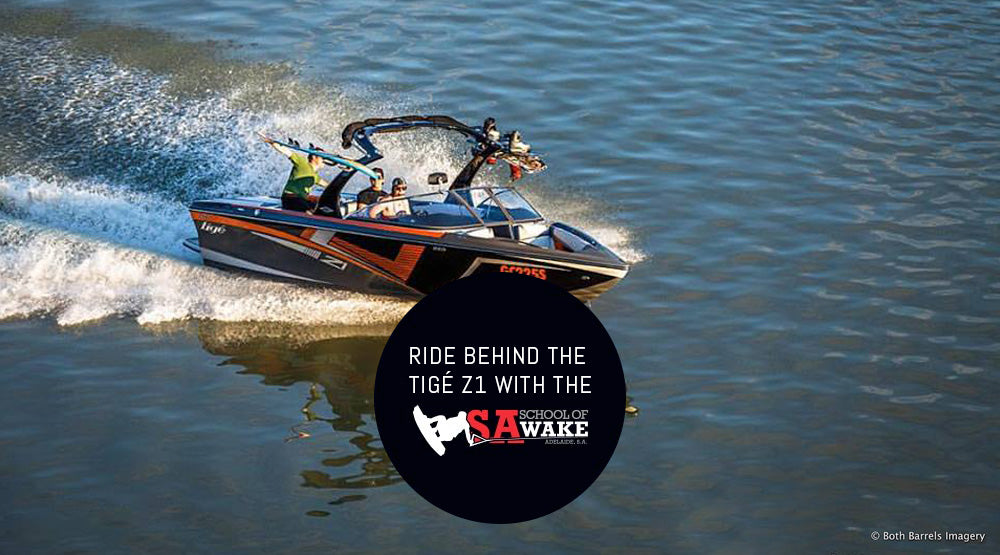 Ride behind the Tigé Z1 with the SA School of Wake