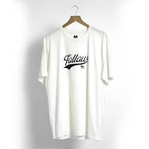 2021 Follow Script Mens Tee - Natural
