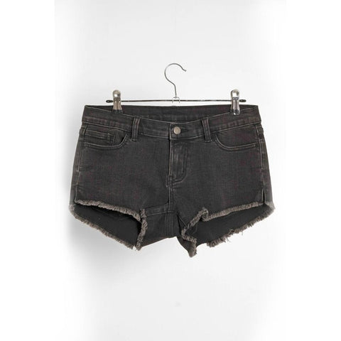 2021 Follow Denim Ladies Ride Shorts - Black