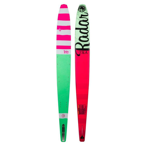 2019 Radar Total Radar Awesomeness - Hot Pink/Caribbean Green/White Ski