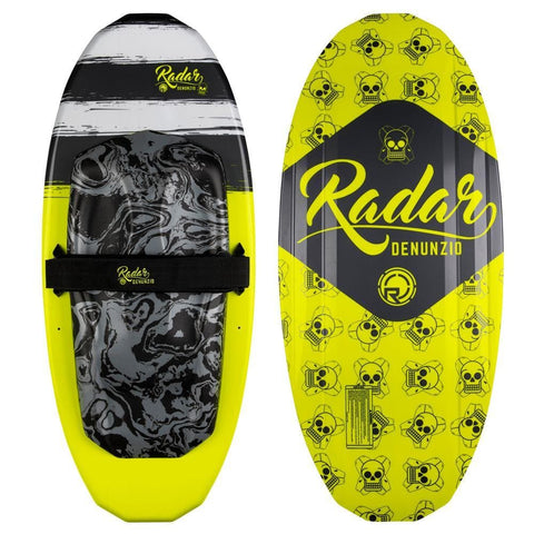 2019 Radar Denunzio Kneeboard - Volt Yellow / Black / White