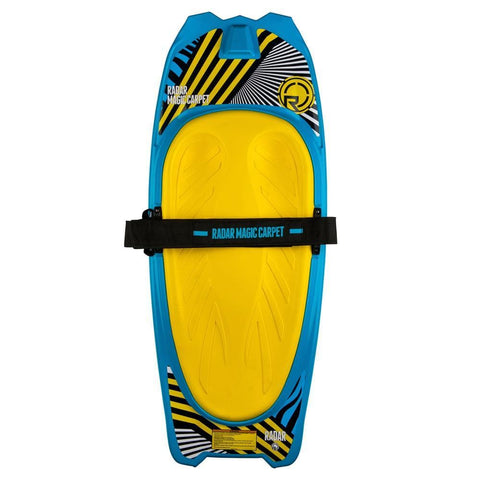 2019 Radar Magic Carpet Kneeboard - Blue / Yellow