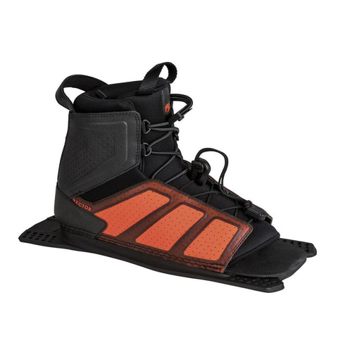 2019 Radar Vector Boot - Steel / Orange - Rear Feather Frame