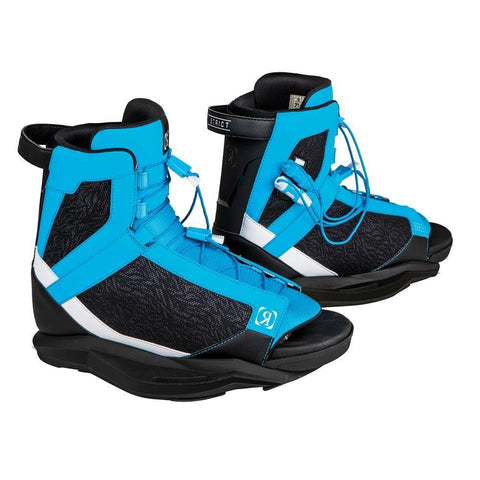 2019 Ronix District  - Blue / Caffeinated / Black Boots