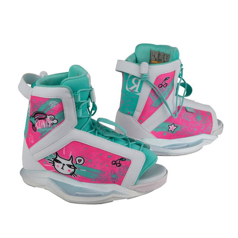 2019 Ronix August Girls Boots  - White / Blue / Fruity Boots (2-6)