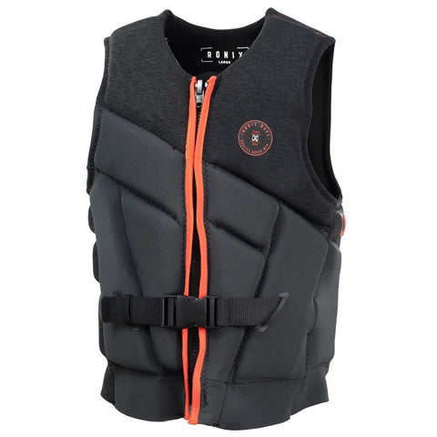 2019 Ronix One L50S Mens Vest - Charcoal / Red