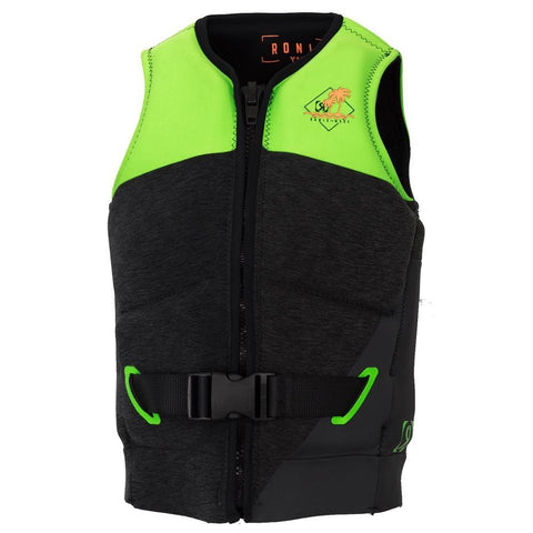 2019 Ronix Vision L50S Vest - Black Heather / Lime