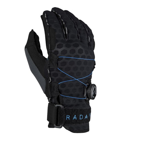 2019 Radar Vapor K - Boa - Inside-Out Glove - Black / Blue Ariaprene