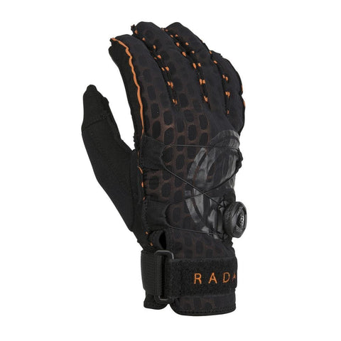 2019 Radar Vapor A - Boa - Inside-Out Glove - Black / Orange Ariaprene