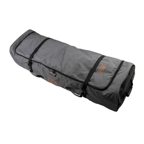 2019 Ronix Links Wheelie Padded Bag - Heather Charcoal / Orange