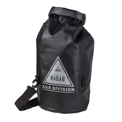 2019 Radar 20L Roll Top Dry Bag Black / Titanium - Black / Titanium