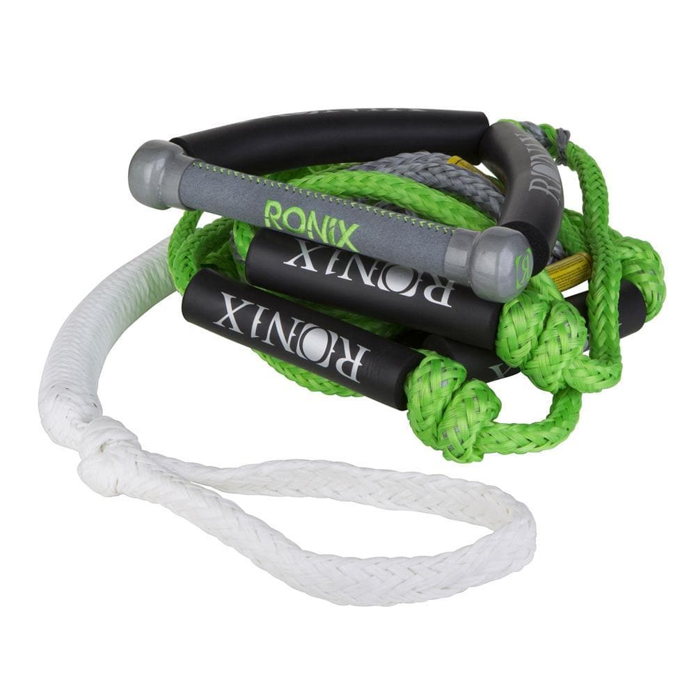 2019 Ronix Spinner Pu Synthetic Surf Rope With Handle - Lime