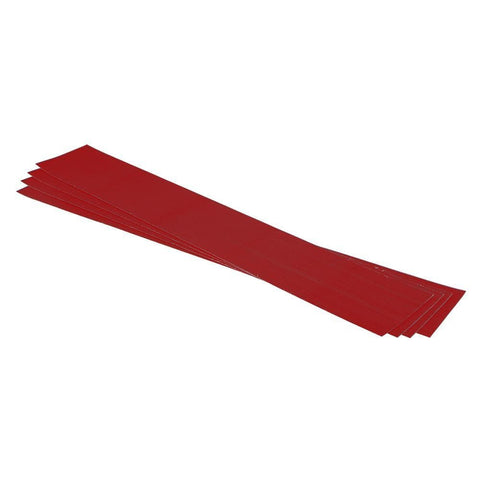"2019 Eight.3 Wss - Boat Velcro Kit - 2 Pcs (4"" X 26"") Xl Red"