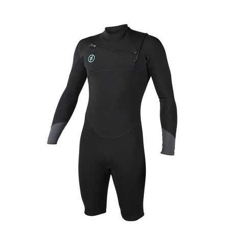 2019 Ride Engine Apoc 2/1 FZ Longsleeve Shorty Wetsuit