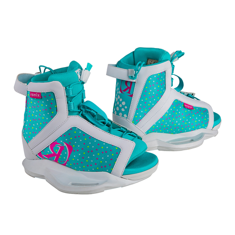 2021 Ronix August Boots - White/Pink/Blue Orchid