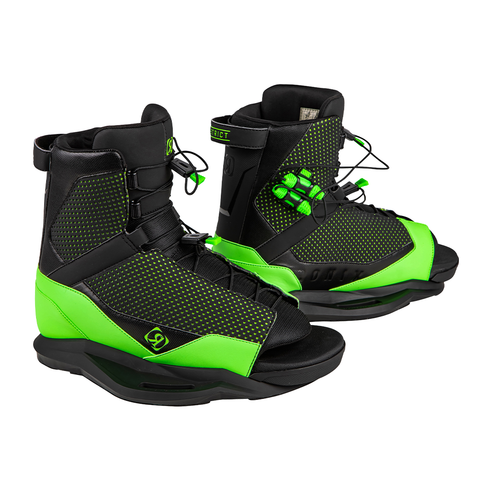 2021 Ronix District Boots - Black / Green