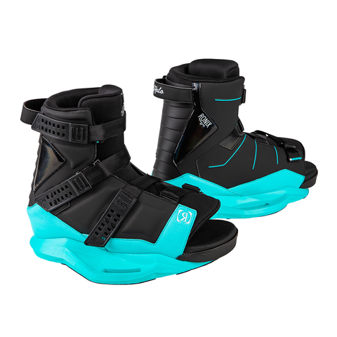 2021 Ronix Halo Boots - Black / Blue Orchid