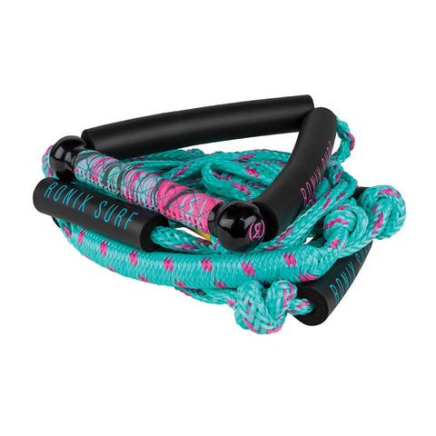 2021 Ronix Women's Stretch Surf Rope With Handle - Pink