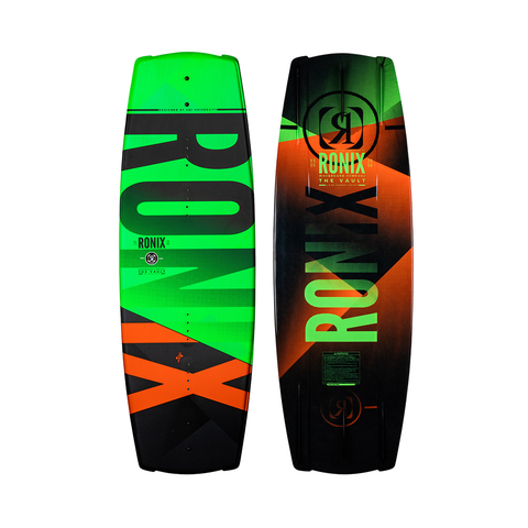 2021 Ronix 128 Vault with Divide Package - Green / Black / Orange