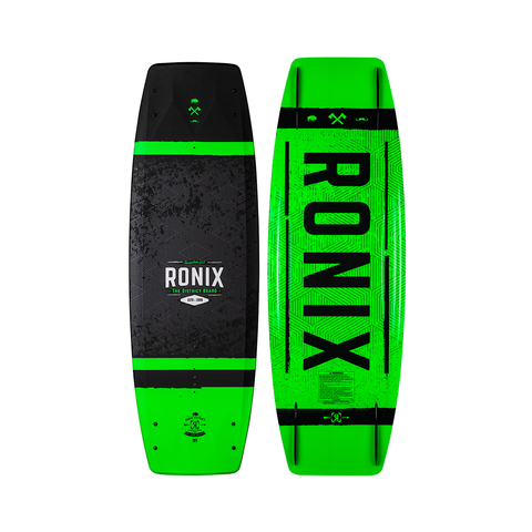 2021 Ronix 129 District with District Package - Textured Black / Green / White