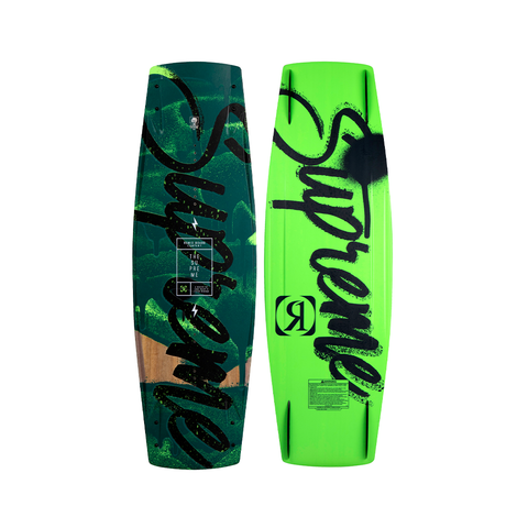 2021 Ronix Supreme Sandwich ATR Wakeboard - Smoldering Charcoals