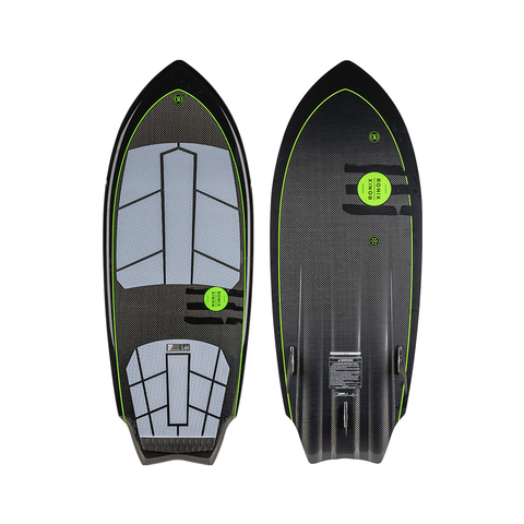 2021 Ronix Carbon Air Core 3 The Sprocket Wakesurfer - Black / Green