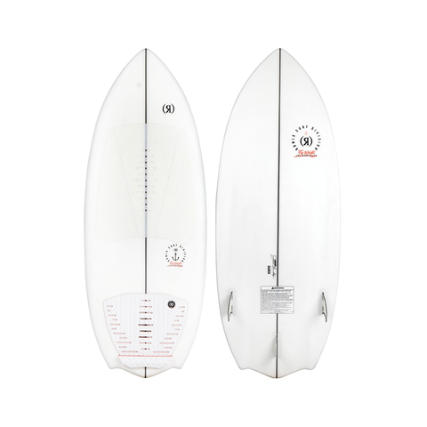 2021 Ronix Flyweight The Conductor Wakesurfer - Alpine White / Orange