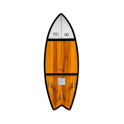 2021 Ronix Koal Classic Fish Wakesurfer - Maple / White / Black