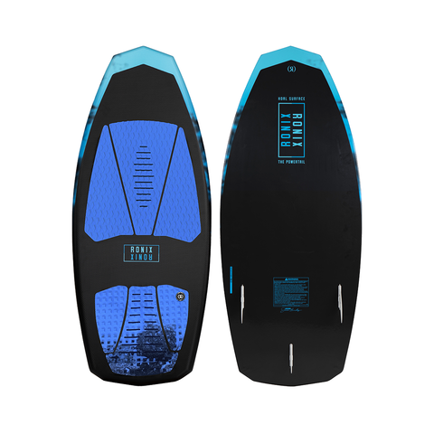 2021 Ronix Koal Surface Powertail Wakesurfer - Textured Black / Blue