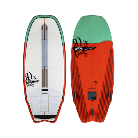 2021 Ronix Koal Technora Crossover Wakesurfer - White / Green / Red