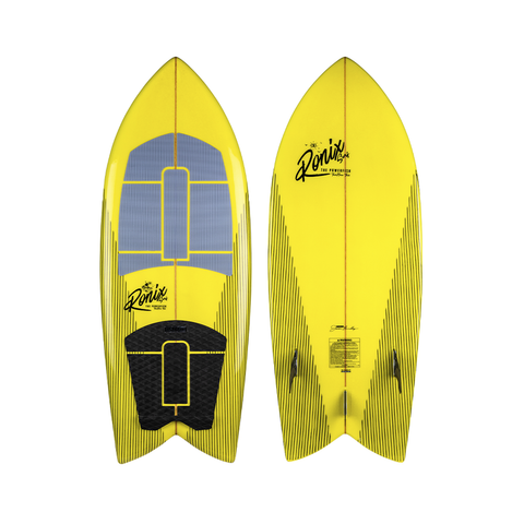 2021 Ronix Koal Technora Powerfish + Wakesurfer - GP Yellow