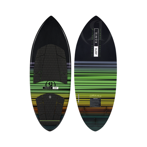 2021 Ronix Modello Skimmer Wakesurfer - Black/Green/Yellow/Orange