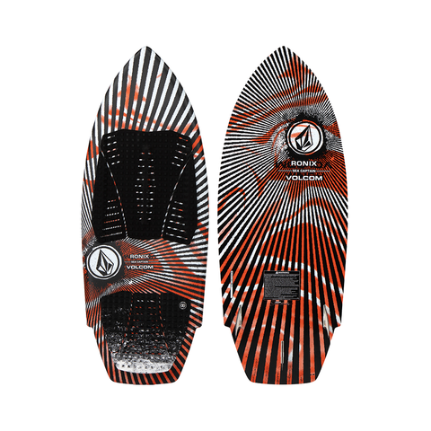 2021 Ronix Volcom Sea Captain Wakesurfer - White / Red