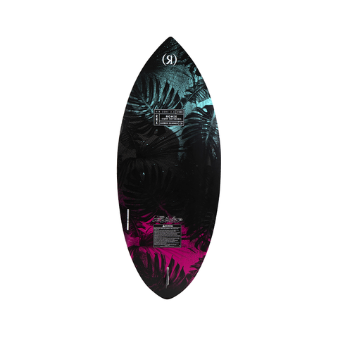 2021 Ronix Women's Carbon Air Core 3 The Skimmer Wakesurfer - Black / Mint / Coral