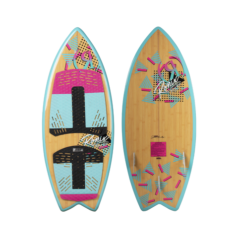2021 Ronix Women's Koal Fish Wakesurfer - Pink / Mint / Black